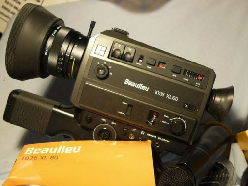 '               BEAULIEU 1028 XL60 Outfit -RARE-' Beaulieu 1028 Cine Camera Cased £199.99